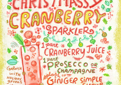 Christmas Cocktails - Sparkler