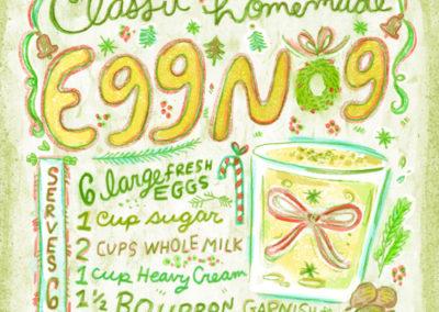 Christmas Cocktails - Egg Nog