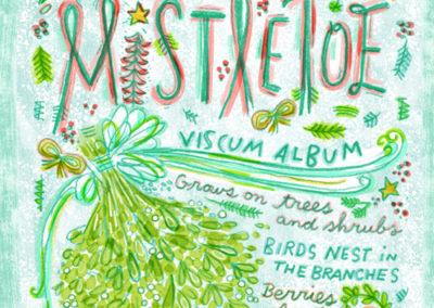Christmas Greens - Mistletoe