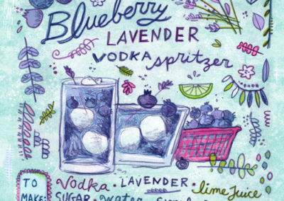 Cocktails - Blueberry