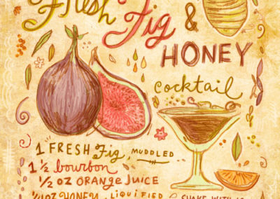 Cocktails - Fig Honey