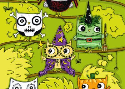 Halloween - Owls - Legacy