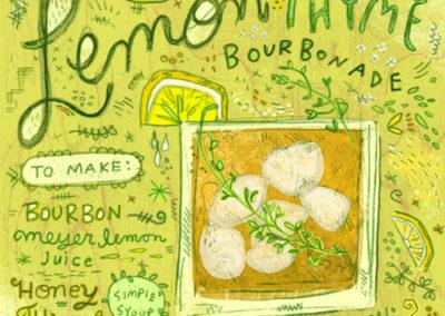 Cocktails - Lemon Thyme
