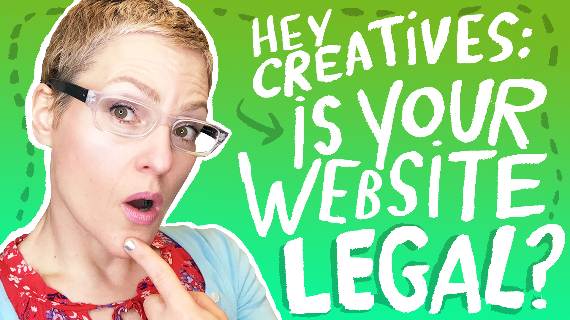 Artists, get your web site legally up to speed with my FREE Resource Guide PDF.